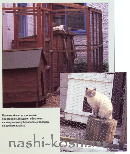вольеры для кошек