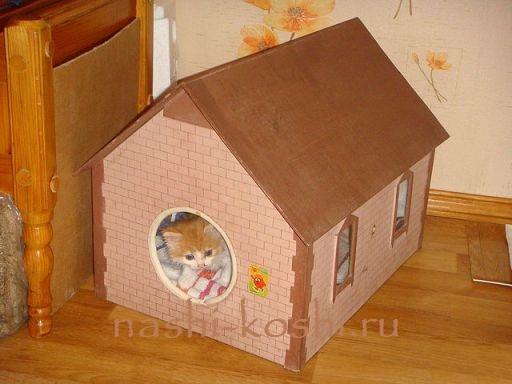 Клетка для кошки схема