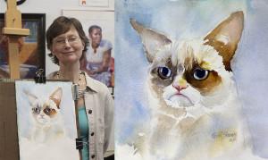арт-проект «Угрюмый кот»